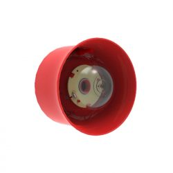 Hochiki-Addressable-Wall-Sounder-Beacon-Red-Case-Red-Lens-(VAD)