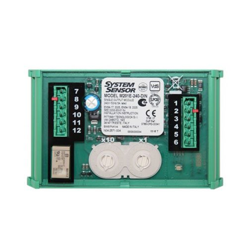 Output-Control-Module-240Vac-Relay-Contact-Rating-DIN-Mounting
