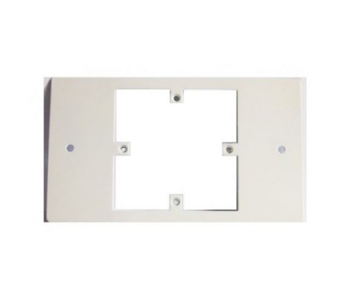 Adapter Plate Single gang plate to fit double gang box