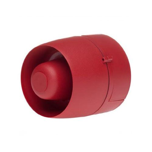FirePlus Wall Sounder Red