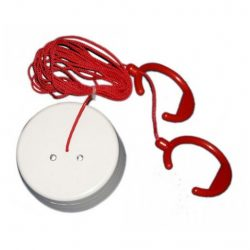 Ceiling Pull Switch with twin re-assurance light