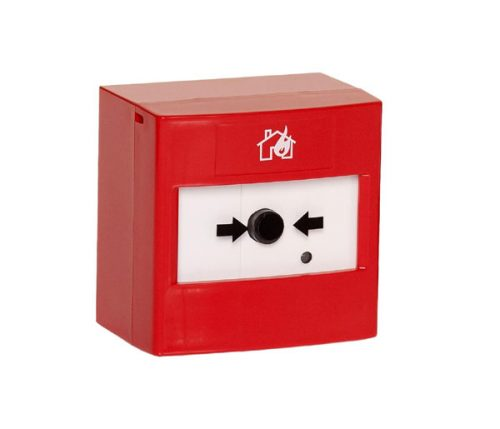 Wireless Manual Call Point C/W Back Box and Batteries