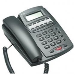 VOIP Telephone Handset for use with Audio Gateway