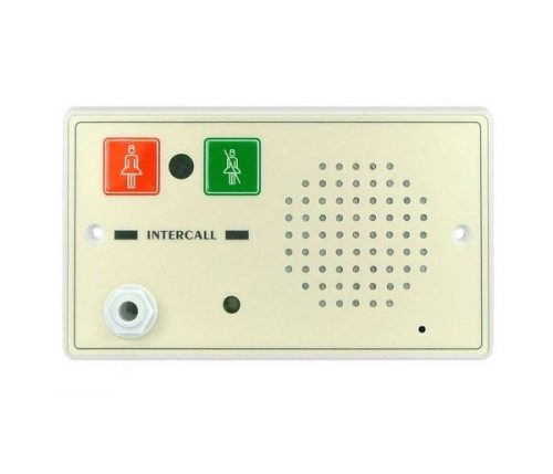 Call Point with IR Receiver and Intercom Facility - D Gang Size