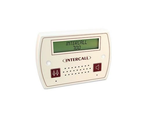 LCD Display Unit with Intercom Facility - Requires BB1