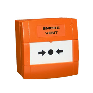 Orange Smoke Vent Call Point